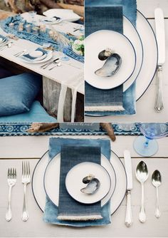 Indigo Wedding Inspiration, Styled by Spread Love Events, Photographed by Gucio…