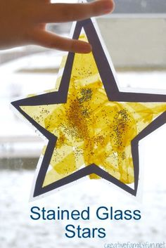 Creative Family Fun: Stained Glass Stars