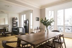 What is it about Paris homes that feel so chic and elegant? This apartment in a classic Haussmannian building in Paris is both those things. But it's also a beautiful example of mixing traditional architectural elements with modern designs.