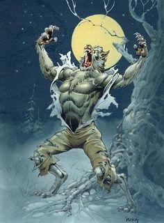 """""""Night Howl"""" Artist Mike Ploog (1993)"""
