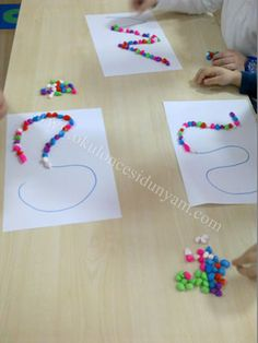 Build letters and numbers Pre K Activities, Autism Activities, Montessori Activities, Kindergarten Activities, Preschool Curriculum, Preschool Learning, Preschool Crafts, Pre School, Kids And Parenting