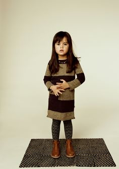 AW 15/16 collection lookbook picture of the brand KIDSCASE.The dress is available at http://www.imps-elfs.com/ #kidsfashion #impsandelfs #kidscase