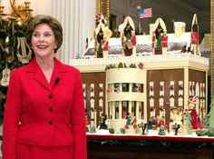 Christmas at the White House, Laura Bush, 2004