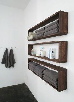 25 Brilliant DIY Badezimmer-Regal-Ideen Sure Savvy-Speicher, um -., 25 Brilliant DIY Badezimmer-Regal-Ideen Sure Savvy-Speicher, um -. Small Bathroom Storage, Bathroom Organisation, Diy Bathroom Decor, Diy Home Decor, Organized Bathroom, Organization Ideas, Simple Bathroom, Storage Room, Towel Storage