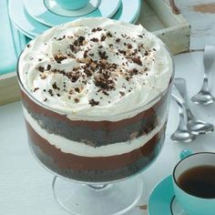 Chocolate Trifle Recipe from Taste of Home shared by Pam Botine of Goldsboro, North Carolina