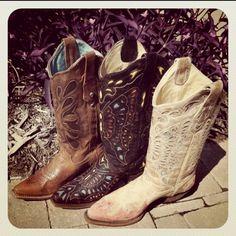 Cowboy Boots at RiverTrail in North Carolina.