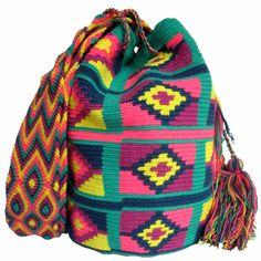 Rattlesnake Mochila Wayuu Bag    Handmade and Fair Trade  Wayuu Mochila Bags – LOMBIA & CO.   www.LombiaAndCo.com