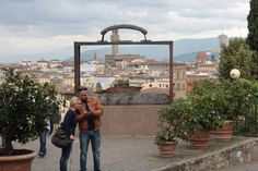 giardino delle rose firenze - Google Search. Rose Garden with a view of Florence.