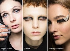 Fall/ Winter 2016-2017 Makeup, Beauty Trends: Graphic Black Eye Makeup