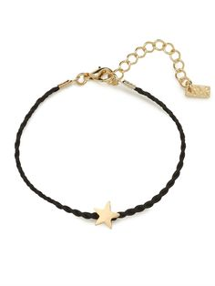 Add a sweet shot of charm into your life with this simple bracelet. It features a compact star accent and braiding details for a cool DIY allure.