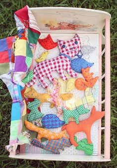 Softies Sewing Patterns. Great gift for parents with toddlers