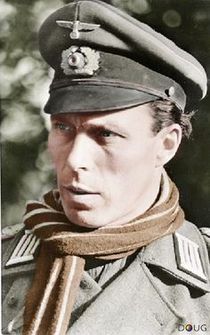 Colonel Hans von Luck, Commander of the 7th and 21st Panzer Divisions. (Lived until he was 85)