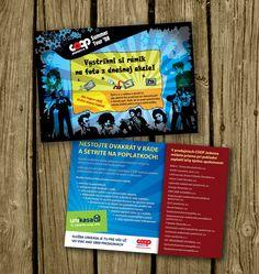 COOP leaflet by doruzova on DeviantArt Brochure Design, Deviantart, Pamphlet Design