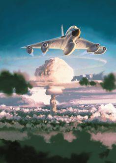 Christophe Gibelin: Convair B-58 Hustler nuking