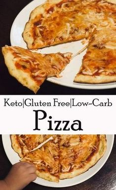 This pizza is so yummy you will need to eat the crust! Ketogenic (keto) friendly, low carb, gluten free pizza crust! This is a fat bomb for sure! A healthy keto choice made with almond flour and ooey gooey cheese.