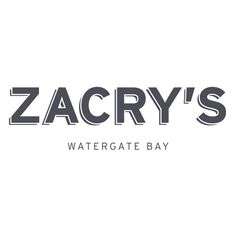 We are excited to introduce our new restaurant - it's got a new name, a new look and a new menu.  Take a look at Zacry's!