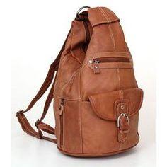 Convertible Back Pack Purse, Mid Size Tear Drop Shoulder Bag, Backpack, Sling Bag. Genuine Leather