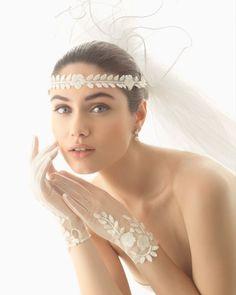 Bridal hair ornament. Rosa Clará 2016 Accessories Collection.