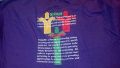 YMOP T-shirt I did for Holy Fellowship  Backside