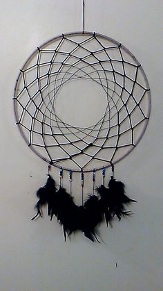 Big 14 Dream Catcher with Natural Gemstone Beads