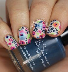 floral w/leopard