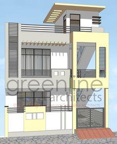 House Outside Design, Simple House Design, House Front Design, Modern House Design, Building Elevation, House Elevation, Home Building Design, Building A House, Front Elevation Designs