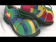zapatos de payaso gio - YouTube                                                                                                                                                                                 Más