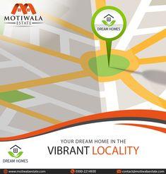 Your Dream Home in the Vibrant Locality.  Project : Dream Homes Plot 2C,Lane 3,Bukhari Commercial Phase-VI, DHA Karachi. Mobile: +92-3002214930 http://motiwalaestate.com/dream-homes/  #Motiwalaestate #RealEstate #HomesForSale #DreamHomes