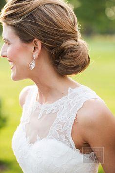 a classic chignon #hair #inspiration Photography: Christian Oth Studio - christianothstudio.com