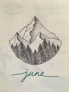 Show Us Your June Bullet Journal Spreads