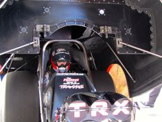 Courtney Force in her Traxxas Funny Car