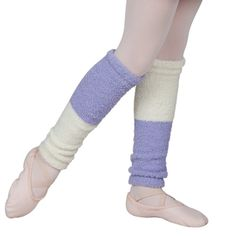 Functional and stylish bicolored Malia leg warmers from Sansha for a conscious performer. Providing an ultra soft touch this two tone lavender white girls leg warmers measure 40 Crafted from the finest fabrics polyester and spandex for extra stret Gymnastics Wear, Girls Leg Warmers, Girl Couple, White Girls, Shirts For Girls, Ballet Shoes, Fashion Accessories, Lavender, Touch