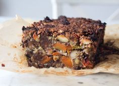 Sage and Apricot Nut Roast with Cranberry Sauce