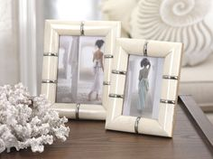 Bone Picture Frame - $38 http://www.carlyleavenue.com/collections/whats-new/products/bone-picture-frame