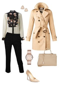 """""""#99"""" by snows22 on Polyvore featuring moda, Burberry, Givenchy, Roberto Cavalli, Yves Saint Laurent, Jimmy Choo, Marc by Marc Jacobs, Kendra Scott, women's clothing e women's fashion"""