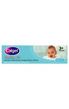 I'm shopping Calgel Teething Gel 10G in the Mothercare iPhone app.