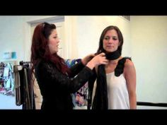▶ How to tie a scarf - YouTube