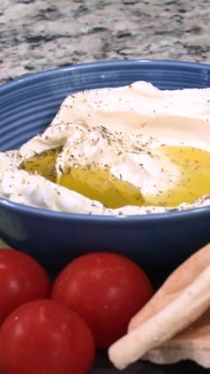 Its so EASY to make your own Labneh cheese- Only 2 ingredients you already have, and 5 minutes of work! Mediterranean Diet Recipes, Mediterranean Dishes, Vegetarian Recipes, Cooking Recipes, Healthy Recipes, Healthy Grilling, Vegetarian Grilling, Appetizer Recipes, Appetizers