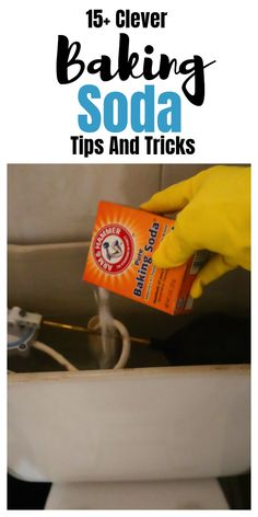 Cleaning hacks Baking Soda uses, hacks, tips, and tricks that will come in handy. Household Cleaning Tips, House Cleaning Tips, Diy Cleaning Products, Spring Cleaning, Cleaning Hacks, Organizing Tips, Cleaning Solutions, Cleaning Carpets, Cleaning Services