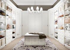 English Mood bedroom by Minacciolo 2016 #minacciolo #englishmood #chic #furniture #elegant #bedroom #wardrobe #walkincloset #luxury #classic #englishstyle #bed #interiors #architecture  #decor #romantic #inspirations