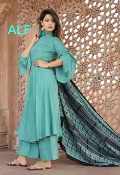 Best Trendy Outfits Part 12 Pakistani Dresses, Indian Dresses, Indian Outfits, Simple Kurti Designs, Kurta Designs Women, Simple Dresses, Casual Dresses, Fashion Dresses, Casual Frocks