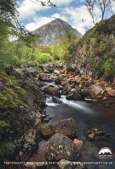River Coupall & Stob Dearg near Glen Coe, Scotland
