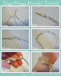 Kerr-afty Creations: Easy Bracelet Tutorial