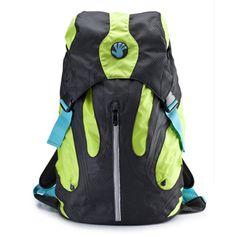 "SLAPPA Kampus 16"" and 18"" Laptop Backpacks-Green/Black"
