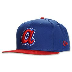 9d1c28c47be Cooperstown Atlanta Braves Snapback New Era Hats