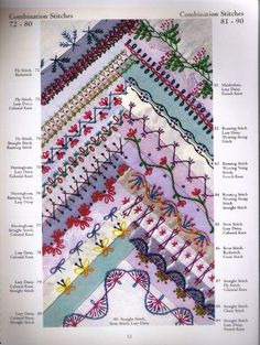 Image result for fancy seam designs for crazy quilts
