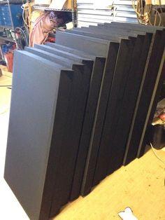 Weekend DIY: Acoustic Panels #DIY #AcousticPanels