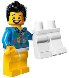 The Lego Movie Where Are My Pants Guy Minifigure Series 71004