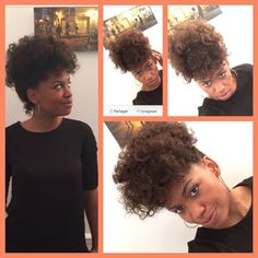 Coupe afro/ natural hair