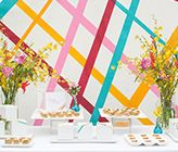 DIY Tape Inspired Art for Weddings